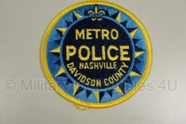 Nashville Metro Police. Davidson County patch - origineel
