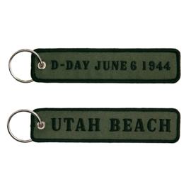 Sleutelhanger D-Day June 6, 1944 UTAH beach - 12,5 x 3 cm