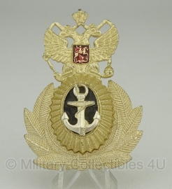 """Russisch metalen petembleem """"Marine""""- origineel"""