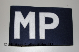 Armband MP - Military Police - donkerblauw
