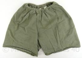 MVO korte broek - 1956 - groen - maat 16 = 82 cm. omtrek - origineel