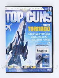 DVD Top Guns  Flying Through Time TORNADO aflevering 1 vliegdekschepen en de helicat  - speelduur 50 minuten -  nieuw -  19 x 13,5 x 1,5 cm - origineel