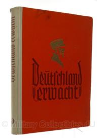 WO2 Duits Deutschland erwacht ZigarettenBilder album- 1936 - origineel