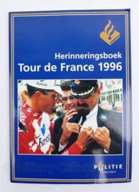 Politie herinneringsboek  Tour de France 1996 - 29,5 x 21 x 0,5 cm - 72 pagina's - origineel