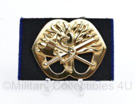 Baret insigne Korps Mobiele Colonnes KMC 1955 - 1993 -  origineel