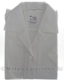KM Koninklijke Marine DAMES GLT blouse wit - korte mouw - nieuw - maat 42 - origineel