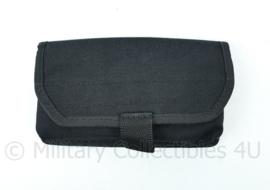 Nederlandse Politie of KMAR MOLLE Vega Holster tas zwart - 17 x 9,5 x 3 cm - NIEUW - origineel