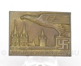 Duitse WO II NS Flugtag Kraftfahrertreffen 1932 Kassel abzeichen - Origineel