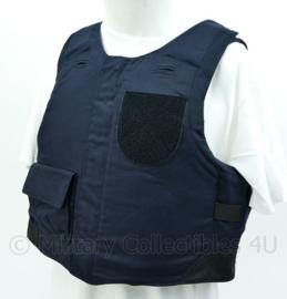 Donkerblauw vest met ballistische inhoud NIJ IIIA maat 42 = Medium - origineel