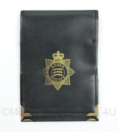 Britse Politie brevet en ID houder ESSEX Police - 16,5 x 11 cm - origineel