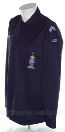 Koninklijke Marechaussee  Overhemd VT - donkerblauw  - met rangen - maat 8000/0510 - origineel