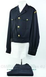Koninklijke Marine daags blauwe jas met broek 1968 - Aspirant reserve officier -maat 51- origineel