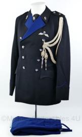 KMAR Marechaussee  DT uniform set met nestelkoord en parawing   - Adjudant - NIEUW met aangehecht kaartje - maat 40 - origineel