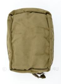 Defensie Korps Mariniers en US Army coyote Molle Medic IFAK pouch - 12,5 x 17,5 x 6 cm - origineel