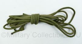 Nederlands leger touw - 6,5 mm dik en 6,5 meter lang - nieuw - origineel