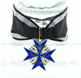 Pour le Mérite medaille Blue max - met luxe lint