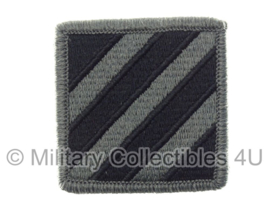 US Army Foliage patch - 3rd Infantry Division - met klittenband - voor ACU camo uniform - origineel