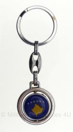 Kosovo Police sleutelhanger - 3 x 9 cm - Origineel