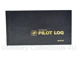 Klu Luchtmacht The standard Pilot logboek ASA-SP-30 - nieuw met alleen een naam erin - 20,5 x 11 x 1 cm -origineel