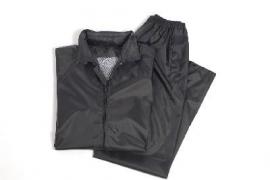 Regenpak - regenjas met regenbroek  - zwart