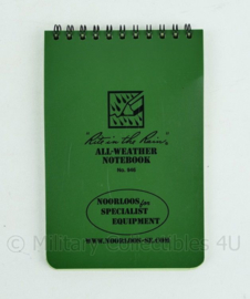 Noorloos All weather notebook no.946 - 15,5 x 10 cm.