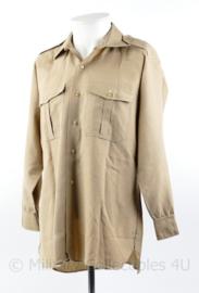 US Officer model shirt khaki - Naoorlogs - maat 40  - origineel