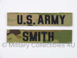 US Army OCP multicamo 'SMITH' branch tape/naamlint SET