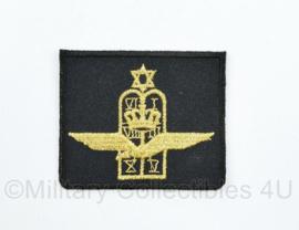 KLU Luchtmacht legerrabijn borst embleem op zwart - 6 x 5 cm - origineel