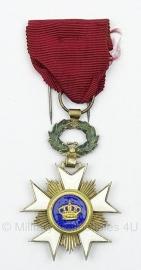 Belgisch – militair – RIDDER IN DE KROONORDE   - Origineel
