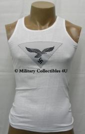 Sportshirt hemd met Luftwaffe adelaar - Size 38 (NL maat 48) t/m Size 42 (NL maat 52)