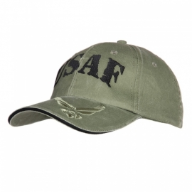 "Baseball cap - green - US Airforce ""USAF"""