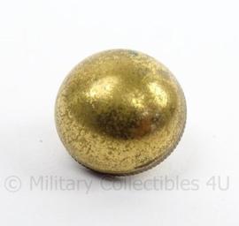 KL Landmacht Adjudant DT stippen - goudkleurig -  doorsnede 1,4 cm - origineel