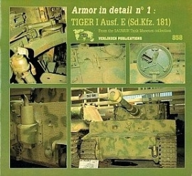 Boek Armor in Detail No. 2: Panther Ausf. A