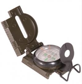 Militair metaal kompas groen -  model zonder naald