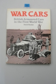 Boek War Cars - British armoured cars of ww1 - Nr. 34