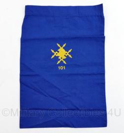 Nederlands leger halsdoek 101 Verbindingsbataljon - blauw - origineel