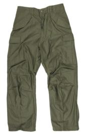 US Army Field Trouser  groen ONGEDRAGEN!! - M65 M1965 - meerdere maten en jaartallen - origineel 1972 tm. 1978 !