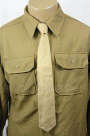 Khaki M1937 stropdas - extra goede kwaliteit