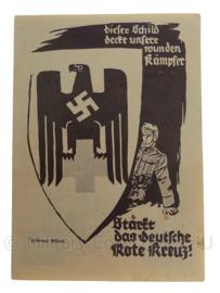WO2 Duitse ansichtkaart SONDERpostkarte DRK Deutsches Rotes Kreuz 1940 - origineel