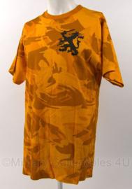 KL Landmacht oranje camo shirt met leeuw Landmachtdagen - maat XL - origineel