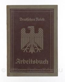 Arbeitsbuch 4 september 1935 - origineel Wo2 Duits