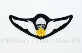 WO2 Canadian RCAF Royal Canadian AirForce Airborne Paratrooper shoulder wing embleem - 10 x 4 cm