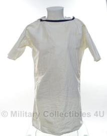 Koninklijke Marine Matrozen hemd WIT met kraag - 50/60'er jaren - maat Small - origineel