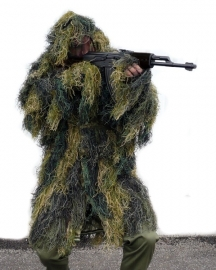 "Ghillie Parka - Woodland - ""anti fire"""