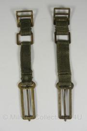 KL set koppelstukken - webbing - oud model - origineel