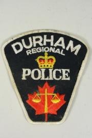 Durham Regional Police patch  - origineel