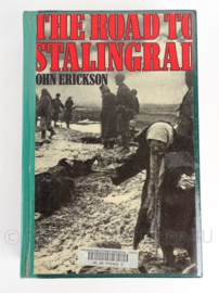 "Boek ""The road to Stalingrad"" - Engels - John Erickson - origineel"