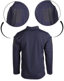Tactical Quick Dry Polishirt lange mouw - met klittenband op de mouwen - BLAUW - nieuw gemaakt