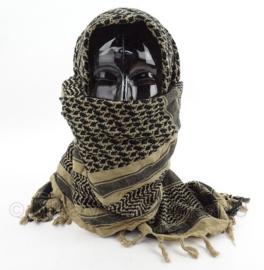 KL Nederlandse leger shemagh sjaal DESERT kleur - licht gedragen - 110 x 95 cm - origineel