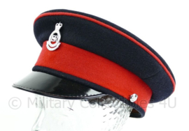 Britse Leger platte pet met insigne - Royal Military Academy Sandhurst - maat 56 - origineel